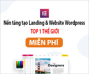 Website bằng Elementor