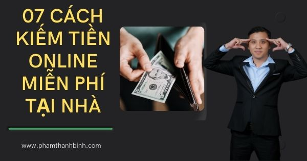 kiếm tiền online tại nhà