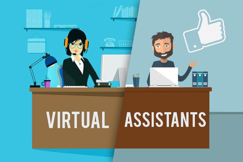 kiếm tiền online cho sinh viên với Virtual Asstant